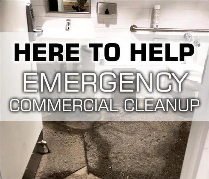 SERVPRO offers commercial sanitizing and disinfecting services to local businesses
