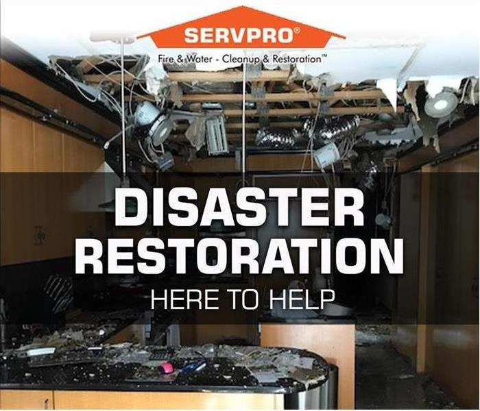 Storm Damage SERVPRO is here to help Mercer County with Property Disaster Restoration Services after roof leaks and other water property damage.
