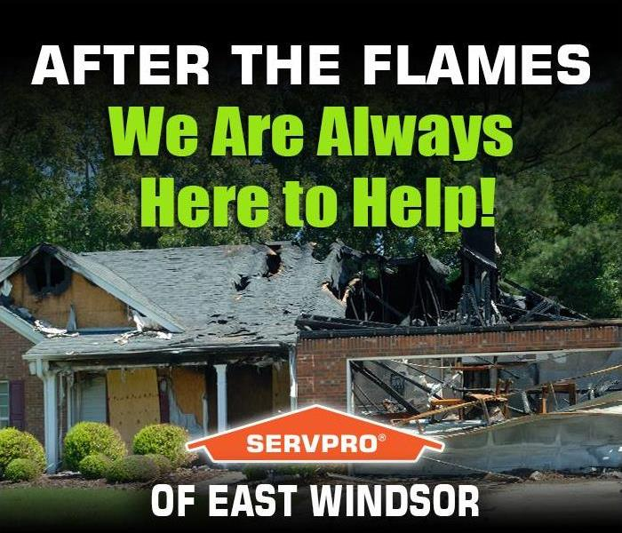 Fire Damage FIRES HAPPEN! Once the fire is out, the recovery process begins. SERVPRO of East Windsor is here to help!