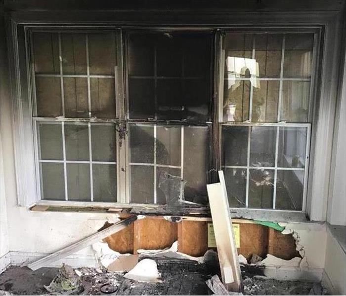 Fire Damage SERVPRO Offers Quality Professional Fire and Smoke Damage Cleanup, Restoration and Reconstruction Services to New Jersey