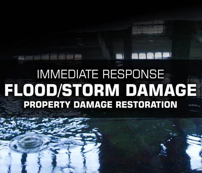 Storm Damage SERVPRO of East Windsor Responds to Flood or Storm Water Property Damage Immediately