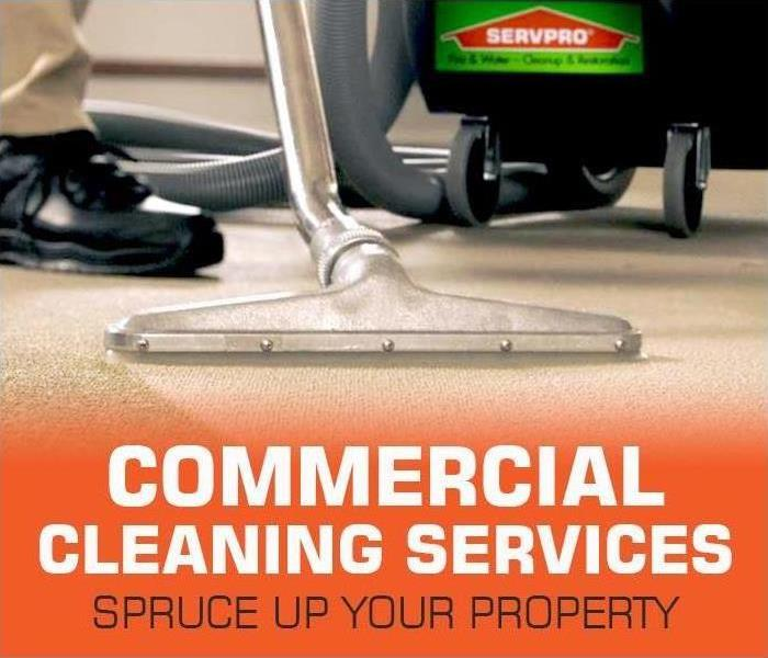 Commercial SERVPRO is Here to Help local New Jersey Businesses and Property Owners with High-Quality Spring Commercial Cleaning Services