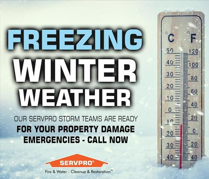 Storm Damage WHEN WINTER STORMS ATTACK YOUR HOME OR BUSINESS OUR NEW JERSEY SERVPRO TEAM CAN HELP
