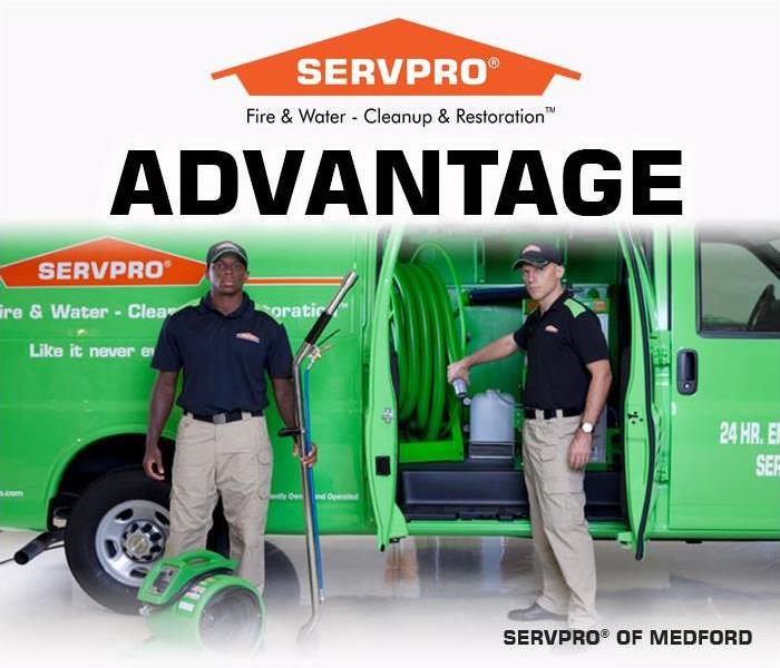 Why SERVPRO The SERVPRO Advantage: Knowledge and Advanced Technology