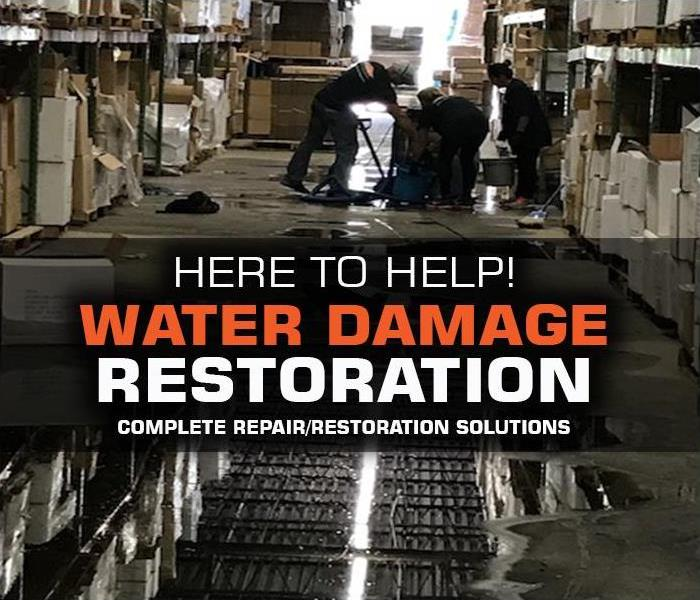 Why SERVPRO Types of Water Damages and How SERVPRO Restoration Professionals Can Help