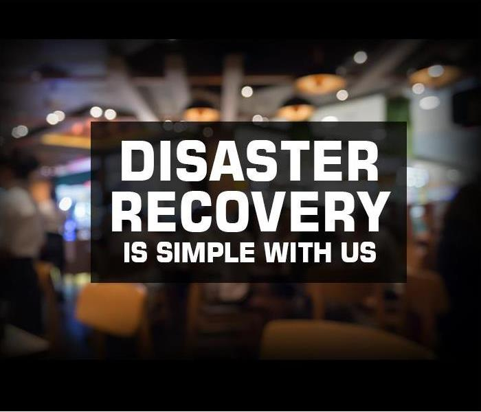 Commercial SERVPRO of East Windsor works quickly after a fire or water disaster, helping avoid business interruption to your restaurant or other commercial prope
