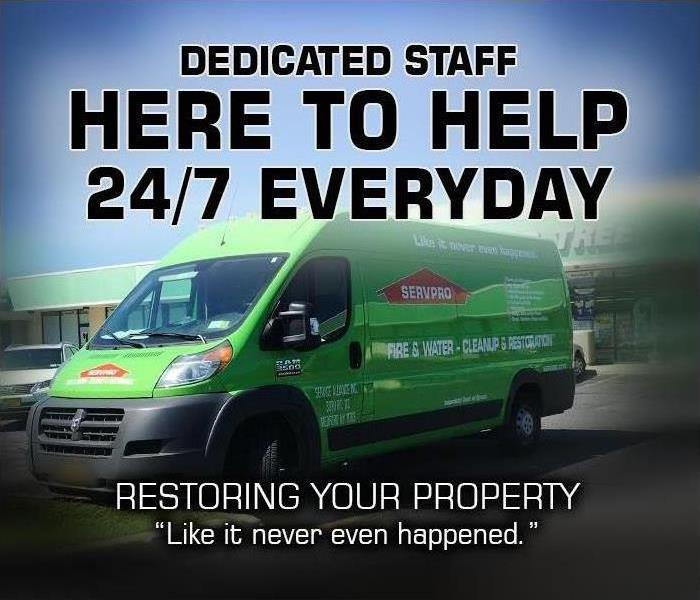 Why SERVPRO SERVPRO Is Always Open for Your New Jersey Property Emergency